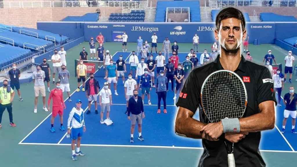 Novak Djokovic y el resto de tenistas que se han sumado a su nueva asociación