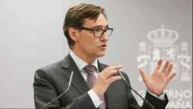El ministro de Sanidad, Salvador Illa, en una imagen reciente