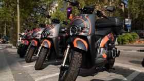 Así lucen las motos del nuevo servicio de Seat.