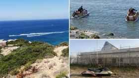 La reinvención del narco con las motos de agua y los inmigrantes.