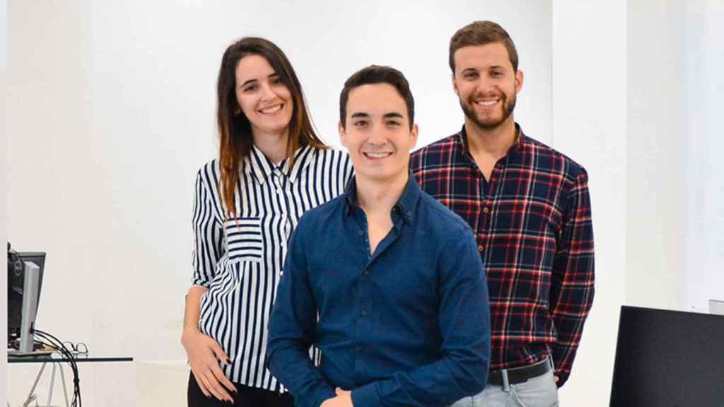 El equipo de esta startup que quiere revolucionar el mundo de la cosmética.