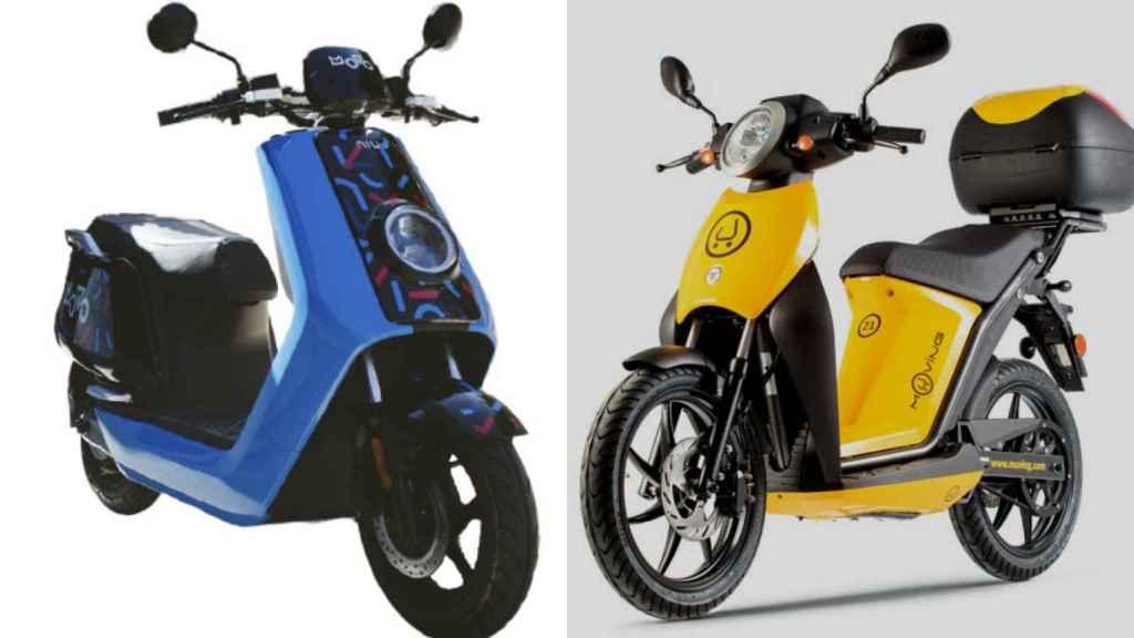 Imagenes de motos de Movo y Muving.
