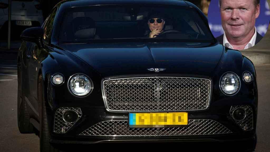 El Bentley de Ronald Koeman.