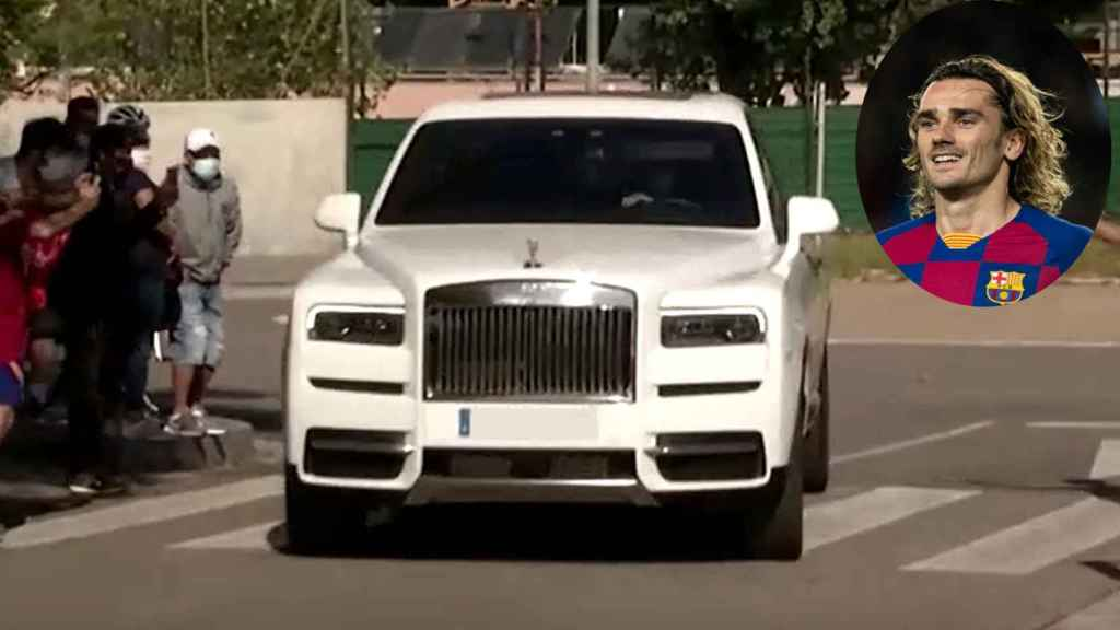 El Rolls-Royce Cullinan de Griezmann.