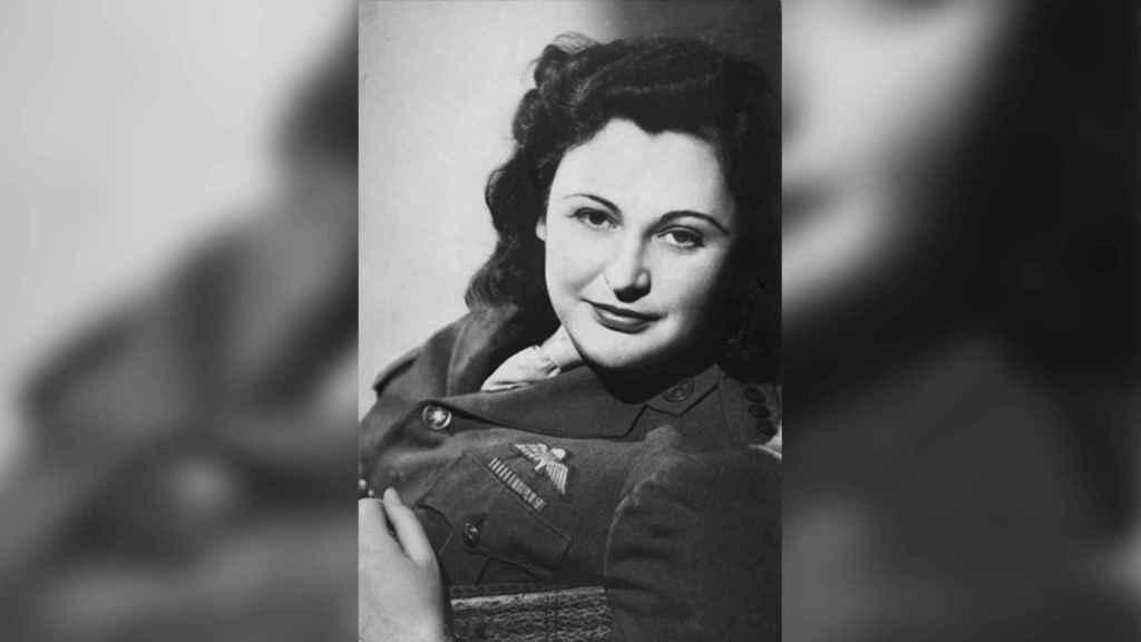 Nancy Wake, en una foto de 1945.
