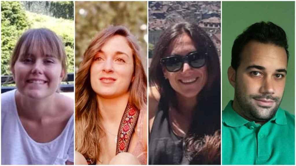 Cuatro de los profesores interinos que optan a las contrataciones de refuerzo de cara al nuevo curso