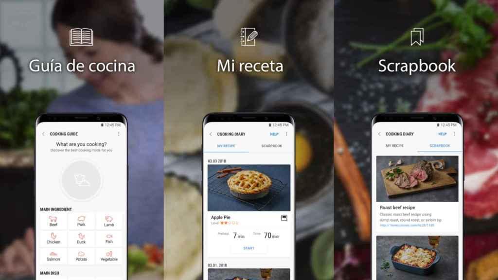 Samsung Dual Cook Flex incluye libro de recetas