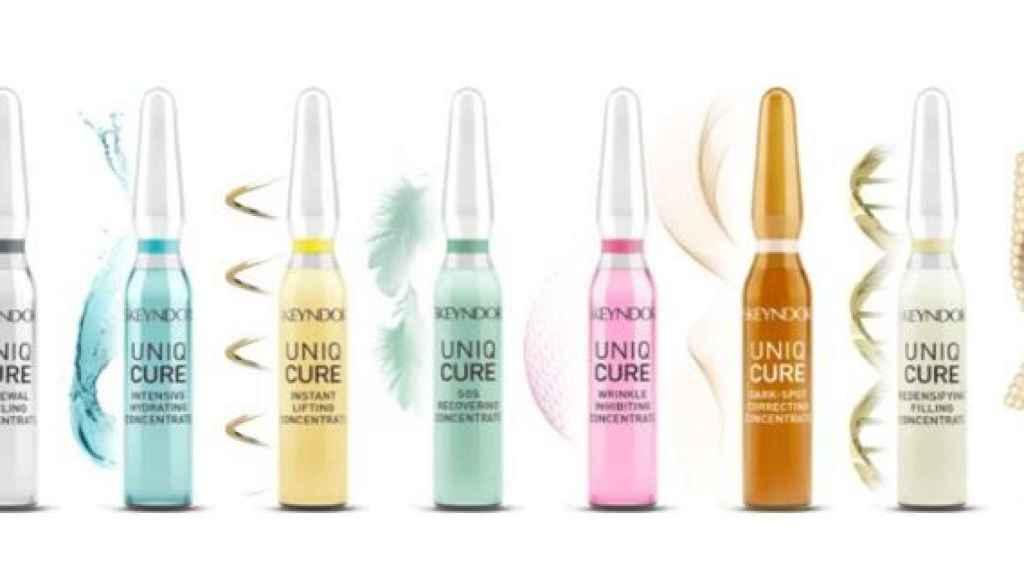 Las ampollas monodosis de la marca devuelven la hidratación de la piel.