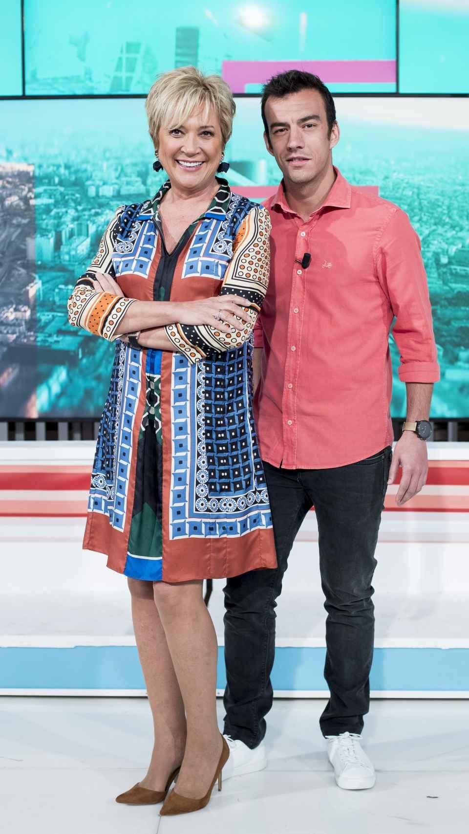 Inés y su compañero José Luis Vidal.