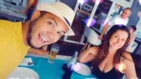 Janner y Yesica en una foto subida a las redes sociales.