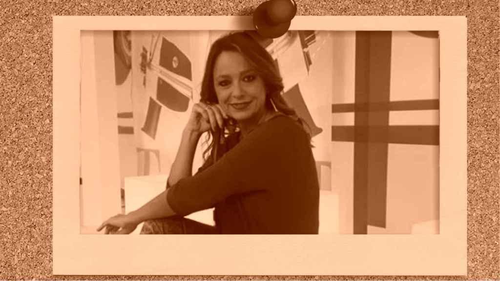 Mónika Vergara en montaje de JALEOS.