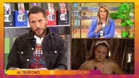 Rocío Flores, en directo, en 'Sálvame'.