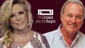 Lydia Lozano y Bertín Osborne en montaje de JALEOS.
