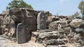 Ruinas del yacimiento de Et-Tell.