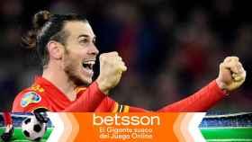 Gareth Bale, en un partido con la selección de Gales