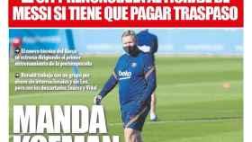 Portada Mundo Deportivo (01/09/20)