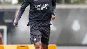 Isco durante un entrenamiento del Real Madrid