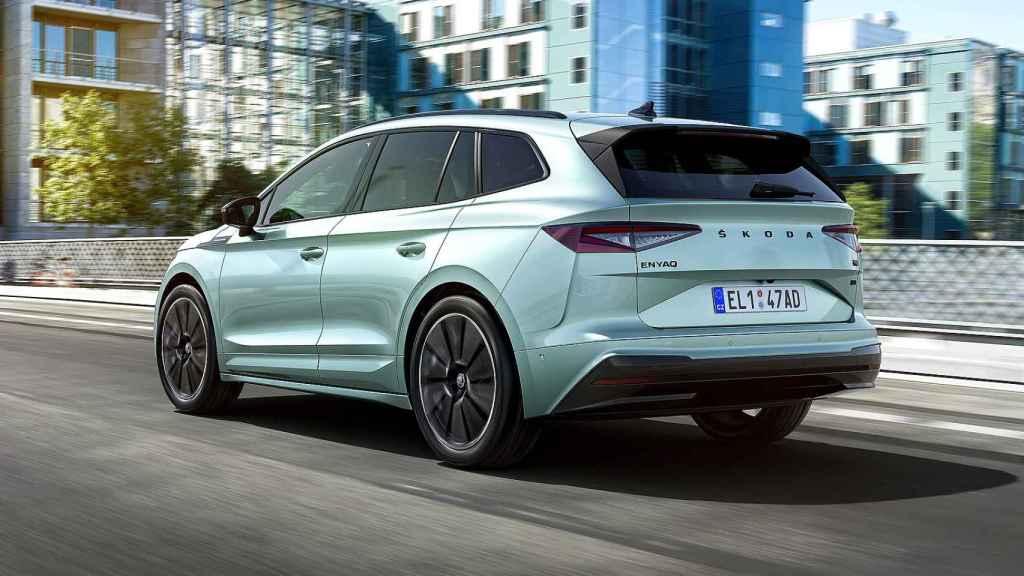 Es el primer SUV eléctrico de Skoda y el primer modelo con la plataforma MEB de eléctricos.