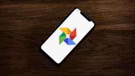 Google Fotos en un iPhone.