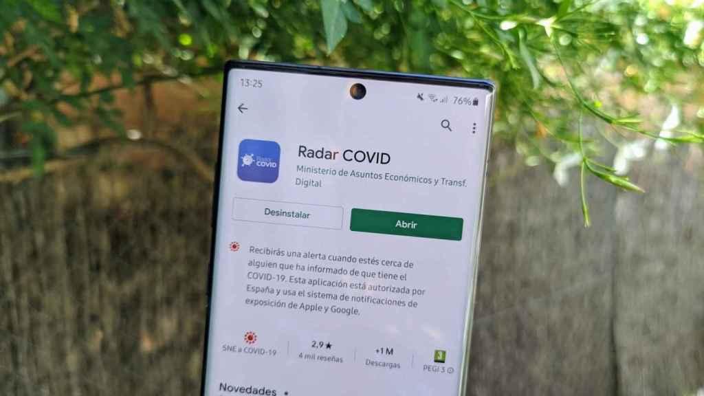 Radar COVID es una de las pocas apps que debería tener acceso a esos datos