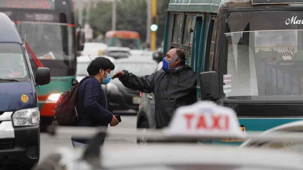 Tráfico en Lima.