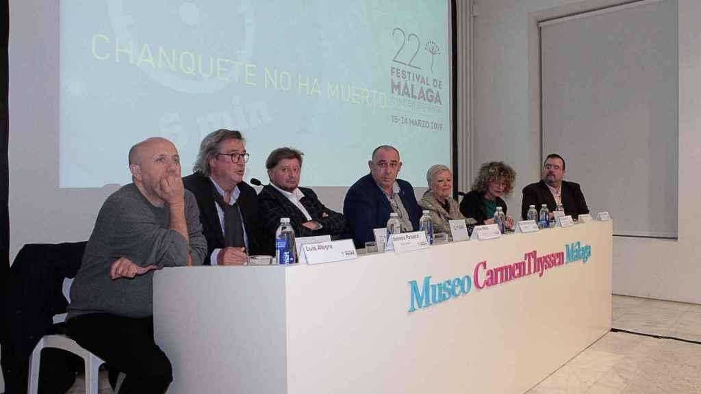 'Chanquete no ha muerto' en su presentación a los medios