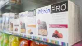 Barritas sustitutivas de comidas a la venta en farmacias. EP.