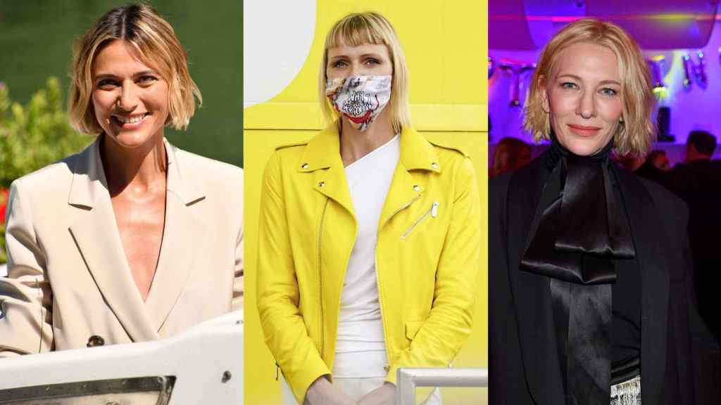 Corto y con flequillo: así es el nuevo peinado de moda de esta temporada