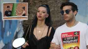 Alejandra Rubio junto a su pareja Álvaro Lobo en montaje de JALEOS.