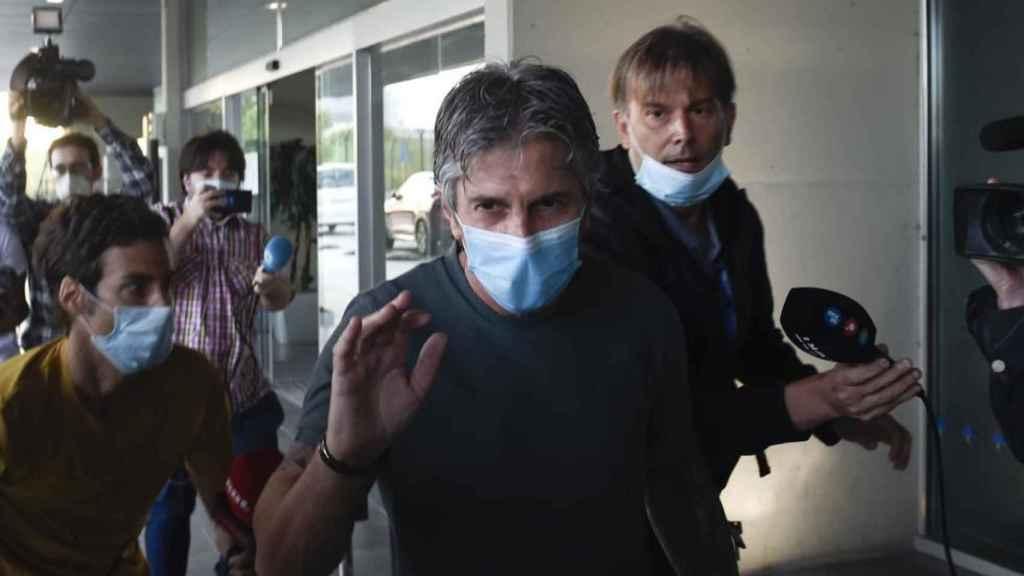 Jorge Messi ya están en Barcelona para reunirse con Bartomeu y tratar la salida de Leo