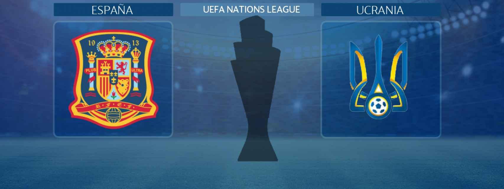 España - Ucrania, partido de la UEFA Nations League