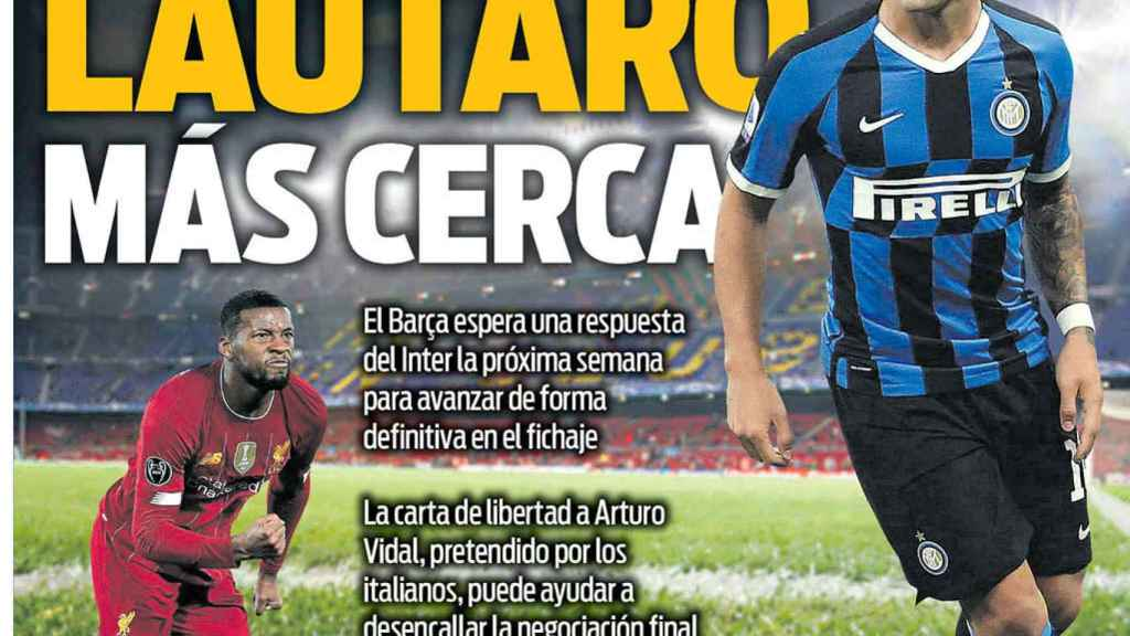 Portada Sport (02/09/20)