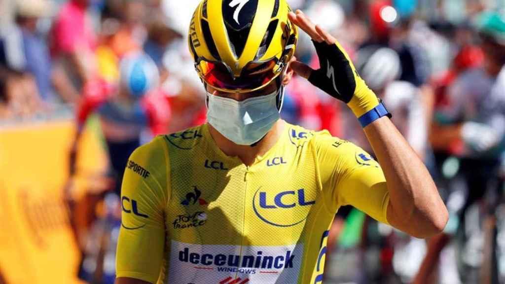 Julian Alaphilippe, en la quinta etapa del Tour de Francia 2020