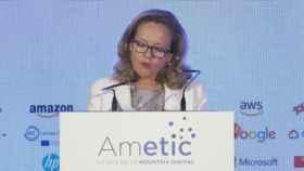 Nadia Calviño,vicepresidenta tercera del Gobierno y ministra de Asuntos Económicos y Transformación Digital