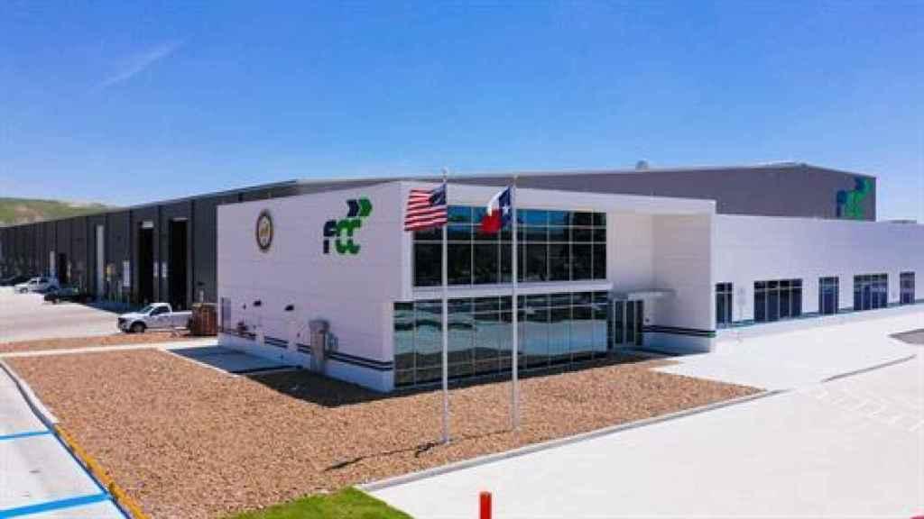 La planta de reciclaje de FCC en Houston, Texas (Estados Unidos).