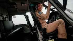 Marlene Nogueira fue la primera piloto de helicóptero militar de Portugal.