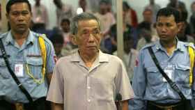 Kaing Guek Eav, alias Duch, primer condenado por los crímenes de los jemeres rojos.