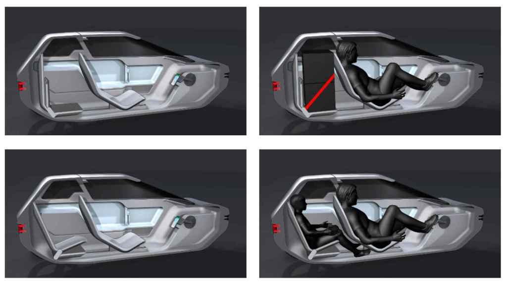 Concepto mezcla de coche y bicicleta de Canyon