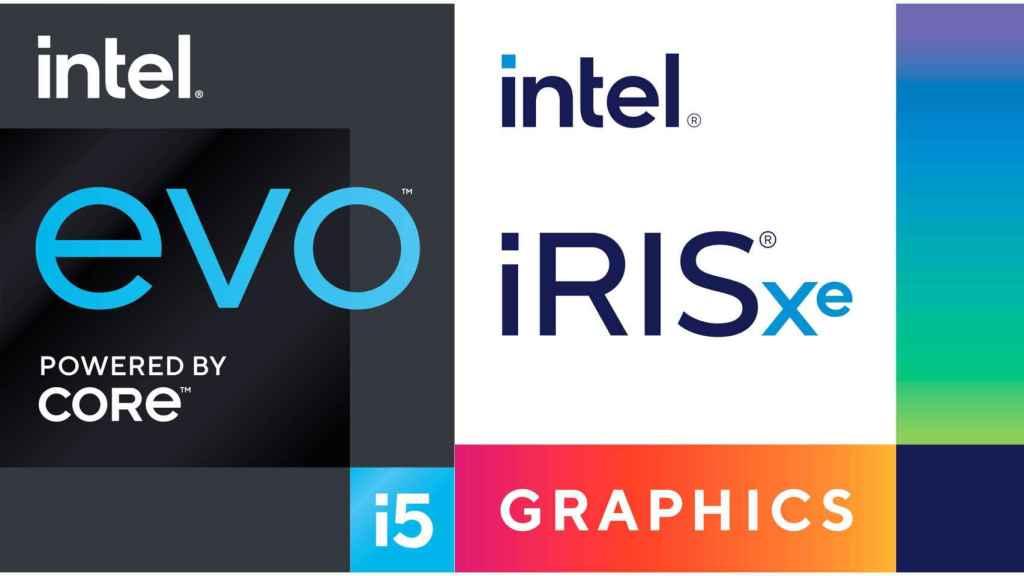 Nuevas marcas Intel Evo y Intel Iris Xe