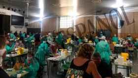 Imagen del auditorio en el que se celebran las pruebas en el IES Virgen de la Paloma