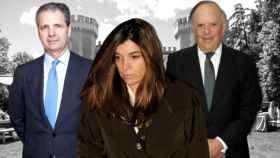Jaime Carvajal, Xandra Falcó y Carlos Falcó en montaje de JALEOS.
