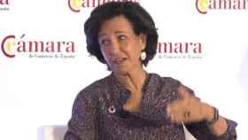 La presidenta del Santander, Ana Botín.