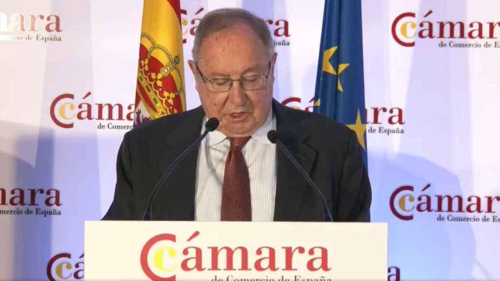 El presidente de la Cámara de Comercio, José Luis Bonet.