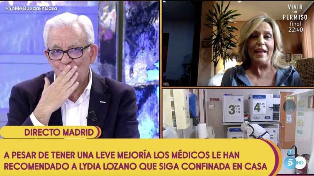 El doctor Sánchez Martos se ha ganado el cariño de la audiencia y de sus compañeros de programa.
