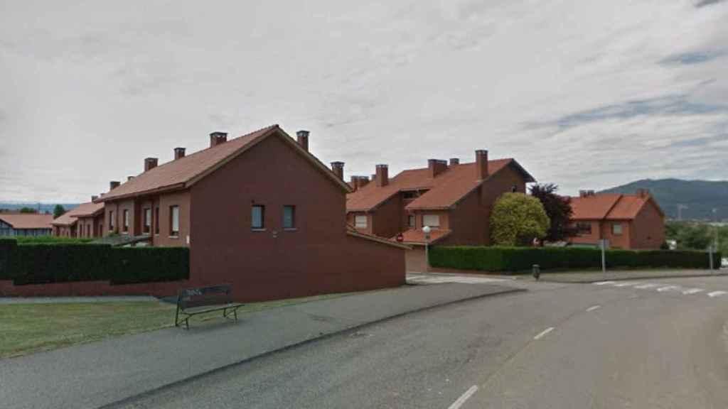 La urbanización La Fresneda en Pola de Siero (Asturias), lugar donde se encuentra Blanca después de 25 años.