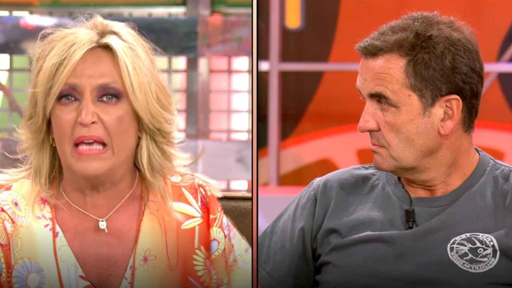 """Lydia Lozano estalla entre lágrimas contra Antonio Montero: """"Te voy a demandar"""""""