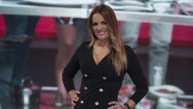 Marta López en una imagen de archivo en el plató de 'Gran Hermano Vip' en 2017.