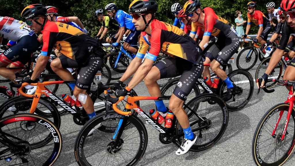 Mikel Landa en el pelotón del Tour de Francia