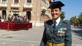 Adriana Tostón, comandante de la Guardia Civil.