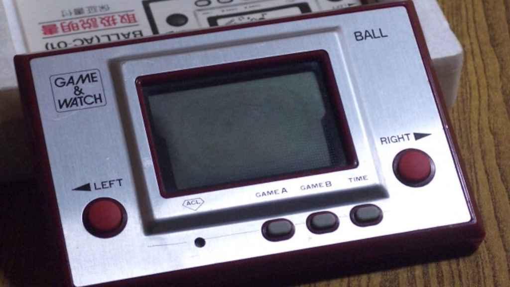Primera Game & Watch de Nintendo